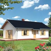 проект дома 56-11 общ. площадь 73,6м2