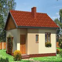 проект дома 56-52 общ. площадь 37,4м2