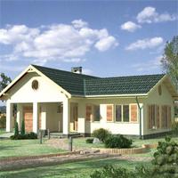 проект дома 82-08 общ. площадь 195,0м2
