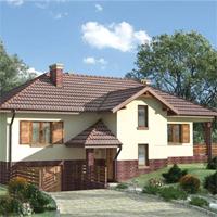 проект дома 82-20 общ. площадь 266,8м2