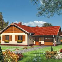 Каталог проекты домов из пеноблоков проект дома 80-44 общ. площадь 118,2 м2
