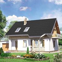 Каталог проекты домов из пеноблоков проект дома 80-45 общ. площадь 143,1 м2