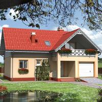 Каталог проекты домов из пеноблоков проект дома 80-46 общ. площадь 149,0 м2