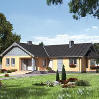 Каталог проекты домов из пеноблоков проект дома 80-47 общ. площадь 143,8 м2