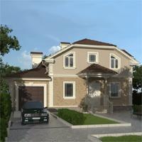 проект дома 88-23 общ. площадь 243,35 м2