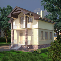 проект дома 88-22 общ. площадь 94,73 м2