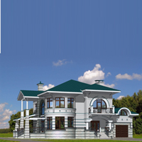 проект дома 82-81 общ. площадь 455,4 м2