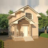 проект дома 88-42 общ. площадь 76,63 м2