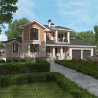 проект дома 88-62 общ. площадь 476,80 м2