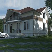 проект дома 88-66 общ. площадь 267,90 м2