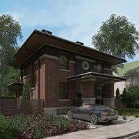 проект дома 88-71 общ. площадь 242,70 м2