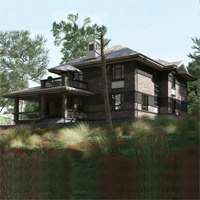проект дома 88-75 общ. площадь 364,15 м2