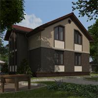 проект дома 88-88 общ. площадь 263,25 м2
