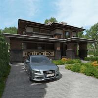 проект дома 88-80 общ. площадь 337,30 м2