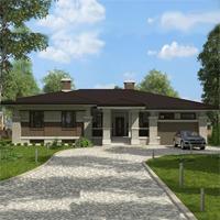проект дома 88-07 общ. площадь 193,35 м2