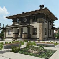 проект дома 87-37 общ. площадь 346,00 м2
