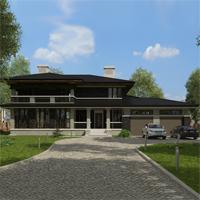 проект дома 87-42 общ. площадь 544,20 м2