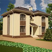 проект дома 89-31 общ. площадь 290,00 м2