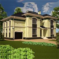 проект дома 89-32 общ. площадь 340,30 м2