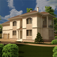 проект дома 89-28 общ. площадь 376,20 м2