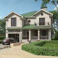 проект дома 89-54 общ. площадь 274,85 м2