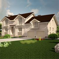 проект дома 87-69 общ. площадь 322,06 м2