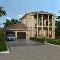 проект дома 87-71 общ. площадь 304,85 м2