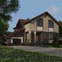 проект дома 89-71 общ. площадь 283,35 м2