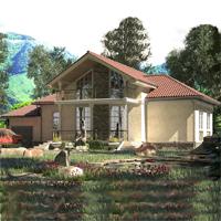 проект дома 89-27 общ. площадь 173,00м2