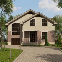 проект дома 87-80 общ. площадь 260,85 м2