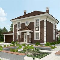 проект дома 87-36 общ. площадь 243,35 м2