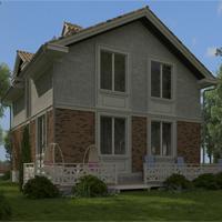 проект дома 87-05 общ. площадь 104,05 м2