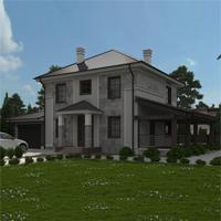 проект дома 87-25 общ. площадь 242,05 м2