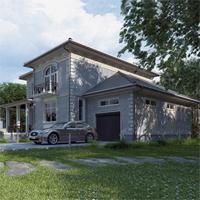 проект дома 89-85 общ. площадь 316,85 м2