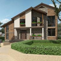 проект дома 87-31 общ. площадь 341,90 м2