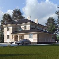 проект дома 84-03 общ. площадь 357,25 м2