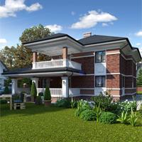 проект дома 84-04 общ. площадь 392,50 м2