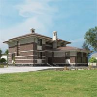проект дома 84-19 общ. площадь 485,15 м2