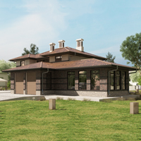 проект дома 84-23 общ. площадь 561,45 м2