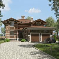 проект дома 84-59 общ. площадь 440,70 м2