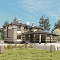 проект дома 84-17 общ. площадь 459,75 м2