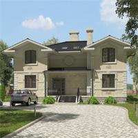 проект дома 84-58 общ. площадь 391,30 м2
