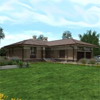 проект дома 84-35 общ. площадь 324,10 м2
