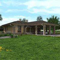 проект дома 84-34 общ. площадь 274,75 м2