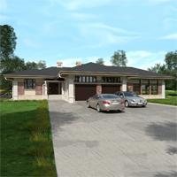 проект дома 84-38 общ. площадь 445,65 м2