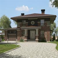 проект дома 87-67 общ. площадь 322,25 м2