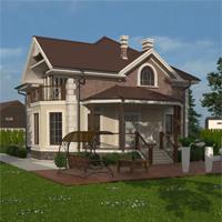 проект дома 93-01 общ. площадь 231,87 м2