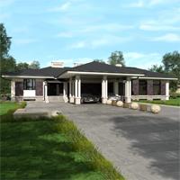проект дома 84-41 общ. площадь 399,20 м2