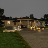 проект дома 84-43 общ. площадь 400,65 м2
