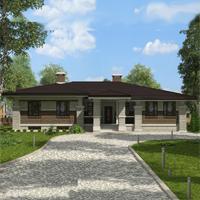 проект дома 91-02 общ. площадь 418,15 м2